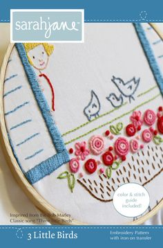 adorable embroidery pattern