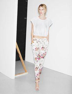Essa calça da Zara já me faz ter saudades do verão