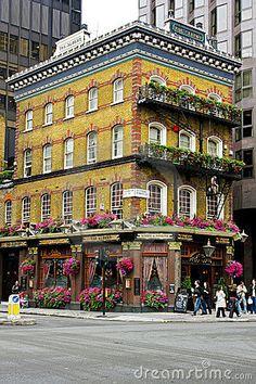 Le Pub Londres d Albert Photographie éditorial