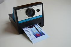 A Polaroid Camera That Only Prints Snapshots Of The Web
