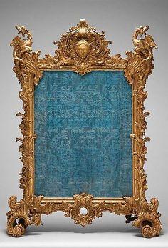 1736-1740 German (Würzberg) Fire screen at the Metropolitan Museum of Art, New York