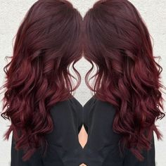 Ruby red hair! More #RubyReds