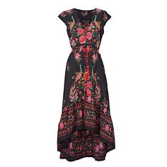 Cupshe So Gifted Vintage Printing Maxi Dress Nice for mothers day! Pretty Outfits, Pretty Dresses, Beautiful Outfits, Cute Outfits, Casual Outfits, Trend Fashion, Look Fashion, Hippie Fashion, Beach Fashion