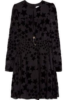 Sonia Rykiel Star devoré-chiffon dress | NET-A-PORTER