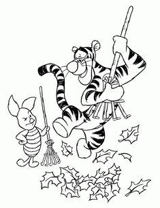 Winnie The Pooh Coloring Pages Disney Pinterest