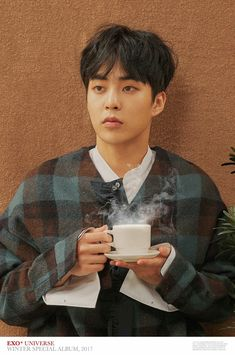 #EXO #WINTER #Cafe_Universe #XIUMIN