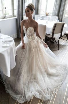 Wonderful Perfect Wedding Dress For The Bride Ideas. Ineffable Perfect Wedding Dress For The Bride Ideas. Dream Wedding Dresses, Bridal Dresses, Luxury Wedding Dress, Strapless Wedding Dresses, Summer Wedding Gowns, Wedding Dresses With Flowers, Event Dresses, Bridesmaid Dresses, Formal Dresses