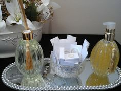 Kit toillet clean produzido por Mônica Guedes