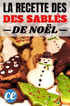 Petits Sablés de Noël : La Recette Facile Et Rapide Que Toute la Famille Va Adorer ! Christmas shortbread cookies: the quick and easy recipe that the whole family will love! Easy Cookie Recipes, Cake Recipes, Dessert Recipes, Chocolate Chip Cookies, Super Cookies, Pretty Wedding Cakes, Galletas Cookies, Shortbread Cookies, Sugar Cookies Recipe