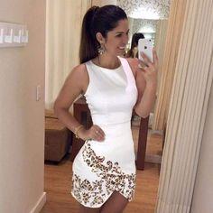 Leopard Print Sleeveless Irregular Women Bodycon Dress Bodycon Dress Daisy Dress For Less Dresses For Less, Casual Summer Dresses, Party Dresses For Women, Short Sleeve Dresses, Mini Dresses, Dress Summer, Dress Casual, Summer Wear, Cotton Dresses