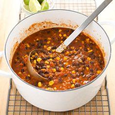 Light Vegetarian Bean Chili