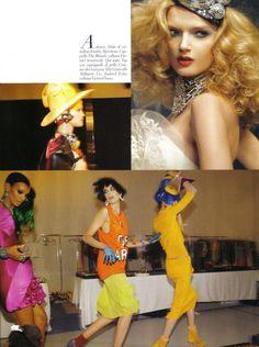 Vogue Italia January 2010   Runway by Steven Meisel