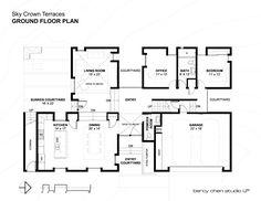 Sky Crown Terraces / Bercy Chen Studio, Floor Plan-G
