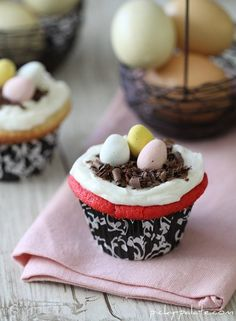 simple easter cupcakes spring