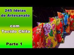 245 Ideias de Artesanato com Tecido Chita - Parte 1 | Criando Maravilhas - YouTube