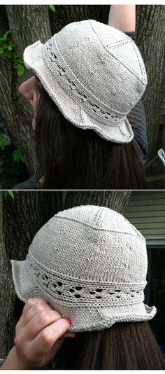 Summer Fun Sunhat Knitting Pattern Sunhat Knitting Pattern From Knit Outta the Box