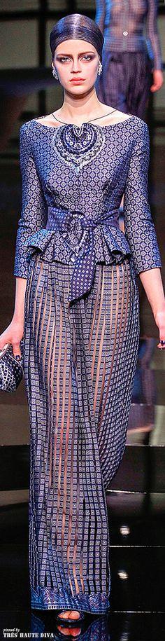 Giorgio Armani Privé Couture Spring 2014 ჱ ܓ ჱ ᴀ ρᴇᴀcᴇғυʟ ρᴀʀᴀᴅısᴇ ჱ ܓ ჱ ✿⊱╮ ♡ ❊ ** Buona giornata ** ❊ ~ ❤✿❤ ♫ ♥ X ღɱɧღ ❤ ~ Fr Jan 2015 Style Haute Couture, Spring Couture, Couture Fashion, Runway Fashion, Womens Fashion, Only Fashion, Fashion Week, Fashion Show, Fashion Design