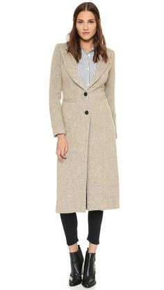SMYTHE Brando Coat | SHOPBOP SAVE UP TO 25% Use Code:GOBIG15