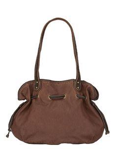 Washed Satchel Bag