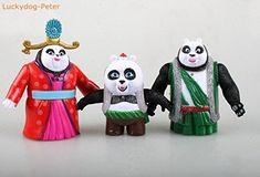kung fu panda 3 figures Set of 11 Po Mei Mei /Li Shan Tigress Monkey Viper Crane PVC Figures