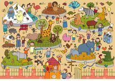 Nueva colección de láminas coloridas para trabajar vocabulario, atención, percepción,  etc