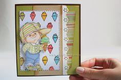 """""""Making-of"""" di una card: video completo dall'inizio alla fine, con elenco dei prodotti necessari e qualche consiglio ^_^"""