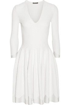 Alexander McQueen Stretch jacquard-knit dress | NET-A-PORTER @gtl_clothing #getthelook http://gtl.clothing
