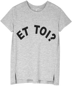 Pin for Later: 50 Fashionable Gifts For Christmas Under £50  Whistles Et Toi? T-Shirt (£45)