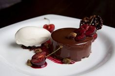 Chocolate pudding at The Truscott Arms  #food #restaurant #chocolate #pudding  http://www.squaremeal.co.uk/restaurant/the-truscott-arms