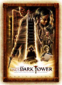 The Dark Tower Movie Poster Fan Art. The Gunslinger.