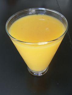 Smoothie de Mango, plátano y Miel de Agave