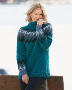 Genser Tia   Knittingroom Mohair Sweater, Magenta, Bohemian Style, Blue Green, Knitwear, Pullover, Model, Sweaters, Dame