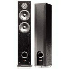 #Polk 2 Way Floor Standing #Speaker Home Stereo Speakers, Tower Speakers, Speakers For Sale, Home Theater Speakers, Stereo Amplifier, Best Floor Standing Speakers, Car Tracking Device, Gps Tracking