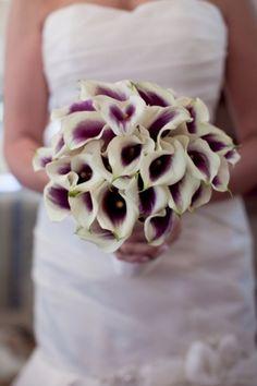 Calla Lilli bouquet.. Beautiful.