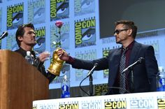 """Robert Downey Jr. Photos: Marvel's Hall H Panel For """"Avengers: Age Of Ultron"""""""
