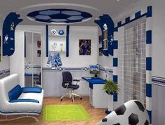 Soccer Man Cave