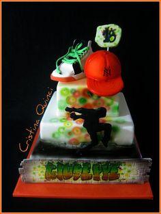 Hip Hop Cake  Cake by Cristina Quinci