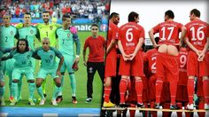 Portugals Teamfoto, auf das sich der Junge vorm EM-Halbfinale mogelte? Jetzt schon legendär! Doch wer erinnert sich nicht noch an die Hose von Thorsten Legat beim Shooting der Schalker im Jahr 2000? Die kuriosesten Mannschaftsfotos: