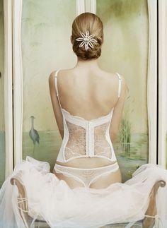 #bridal boudoir back shot.
