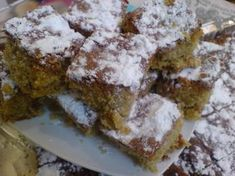 Greek Sweets, Greek Desserts, Greek Recipes, Cooking Cake, Cooking Recipes, How To Make Cake, Food To Make, Greek Cake, Greek Dishes