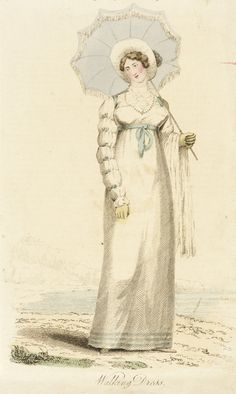 Fashion Plate (Walking Dress) | LACMA Collections 1814