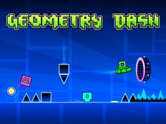 Geometry Dash Lite App by RobTop Games. #geometry #dash #game #app #puzzle #endlessrunning #robtopgames #freeapps #apps #games #freeappsking