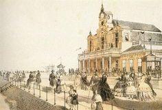 Ostenda 1855 circa Il Kursaal e la passeggiata
