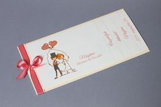Love story esküvői meghívó - vintage wedding invitation, ribbon wedding invitation Wedding Invitation Wording, Words, Vintage, Vintage Comics, Wedding Card Wordings, Horse