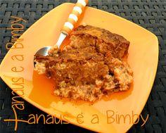 Xanaus e a Bimby: Bolo com Farinha de Banana e Pêra na Bimby