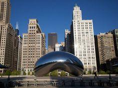 """The Bean"" in Millenium Park, Chicago Represent! Chicago Travel, Chicago City, Travel Usa, Chicago Trip, Chicago Usa, Travel City, Chicago Photos, Chicago Illinois, Places To Travel"