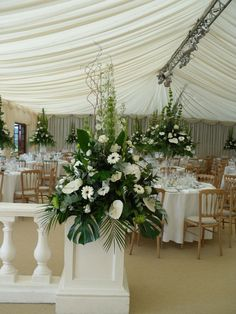 Wedding flowers that are sure to be a talking point of your special day.  www.rodgerstheflorists.co.uk Designer Flowers by Rodgers.