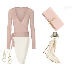 A fashion look from March 2017 featuring Etro cardigans, Casadei pumps and Yves Saint Laurent clutches. Browse and shop related looks.