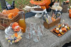 Halloween themed party