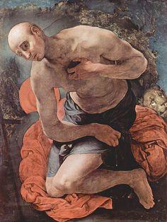Pontormo- San Girolamo penitente